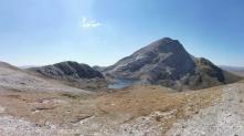5. Loch a Bealach Ruadh Stac and An Ruadh Stac (@892m)