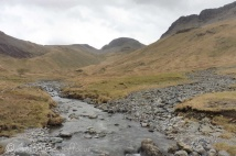 5 Windy Gap and Great Gable (centre) from Ennerdale