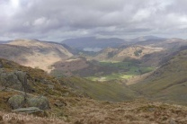 8 Looking back to borrowdale and Derwent Water