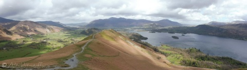 8 Ridge path up Catbells