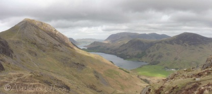 9 High Crag (L) and Grasmoor (centre)