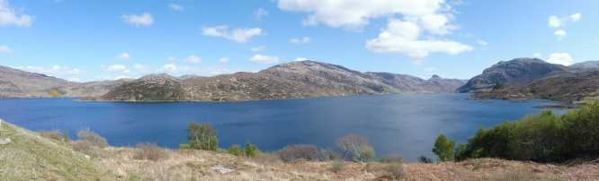 5 Loch Glendhu from the Kylesku Hotel