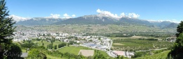 5 Rhone valley panorama
