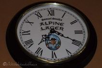 1 Rugby Tavern clock