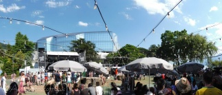 19 Music in the Park panorama