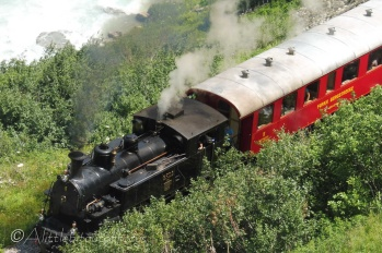 2 Furka pass steam train