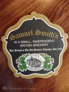 2 Sam Smith's beer mat