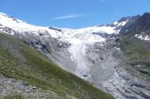 20 Ferpècle glacier