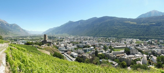 3 Rhone valley panorama