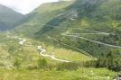 7 Furka pass road and train