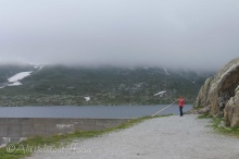 8 Alpenhorn player at the Grimsel pass