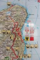 11 Swiss map path close-up