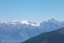 2 Jungfrau (L) in the distance