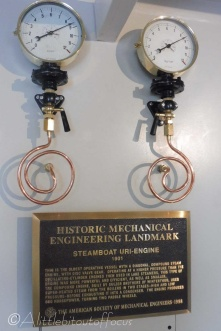 20 Paddle steamer dials and plaque