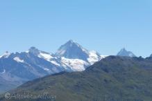 3 Dent Blanche (C) and Matterhorn (R)