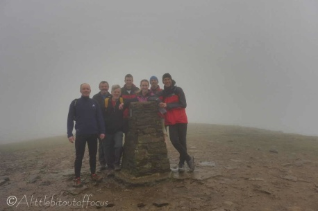 7 Pen-y-Ghent summit