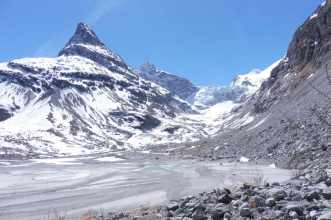 7 Mont Miné and glacier