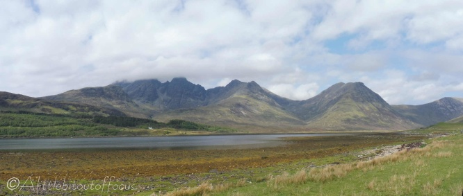 1 Blaven (in cloud) and Loch Slapin