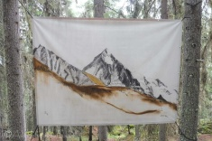 13 Dent Blanche painting