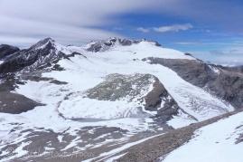16 Pointe de Vouasson and glacier