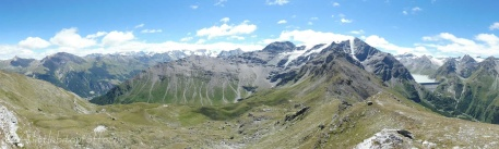 16 View south over Col de la Meina