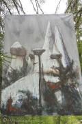 5 Les Pyramides painting