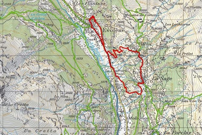 Walk Map