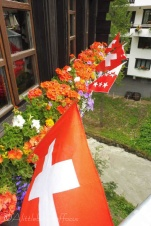 21 Flowers and flags