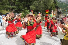 30 Bolivian procession