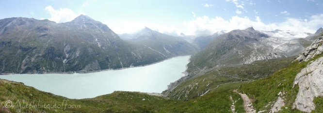 4 Mattmark reservoir and Schwarzberg glacier