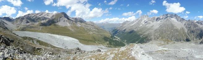6 Panoramic view north