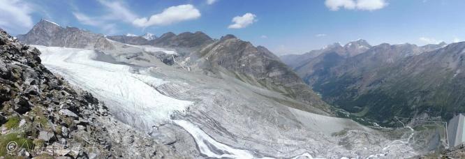 7 Allalin glacier
