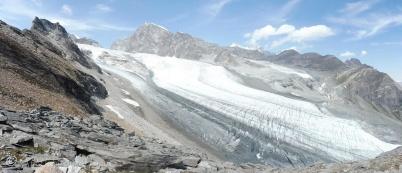 9 Allalin glacier