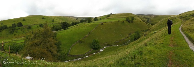1 View east of Kettlewell