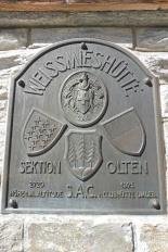 14 Original Hut sign