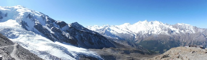 2 Weissmeiss and Triftgletscher (L)