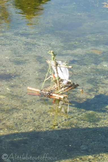 12 Little boy's boat