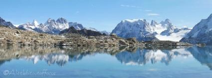 17 Dent d'Hérens and Mont Collon reflection