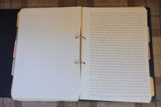 2 Original typed manuscript