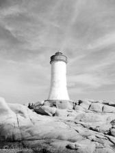 23 Capo d'Orso lighthouse (b&w)