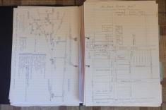 3 Hand-drawn diagrams
