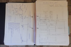3 Hand-drawn diagrams
