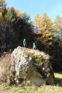 4 Rosie and Oliver rock climbing