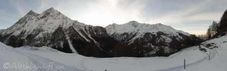 13 Snowy walk