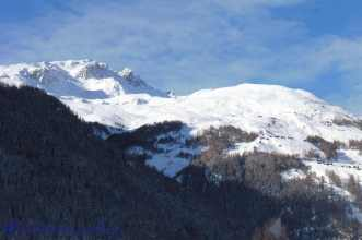 5 Evolène downhill ski area