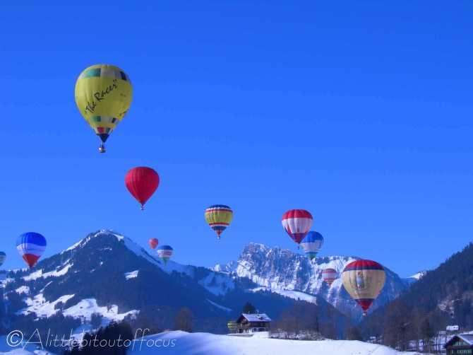 1 Chateau D'Oex Balloon Festival
