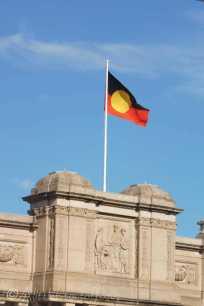 10 Australian Aboriginal flag