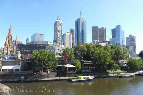 11 Yarra and South bank skyline