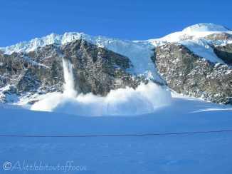 12 Ice fall, Saas Fee
