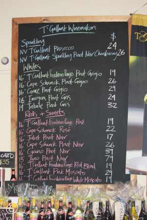 12 Wine menu